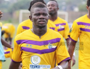 Ghanaian side Ashantigold table bid for Medeama star Kwasi Donsu