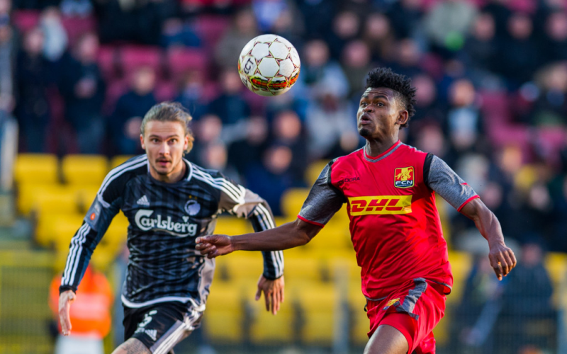 Ghana midfielder Godsway Donyoh close to injury return for FC Nordsjaelland