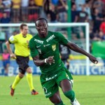 Swashbuckling Ghanaian forward Raphael Dwamena hits TREBLE and provides assist to down former employers Liefering in Austria
