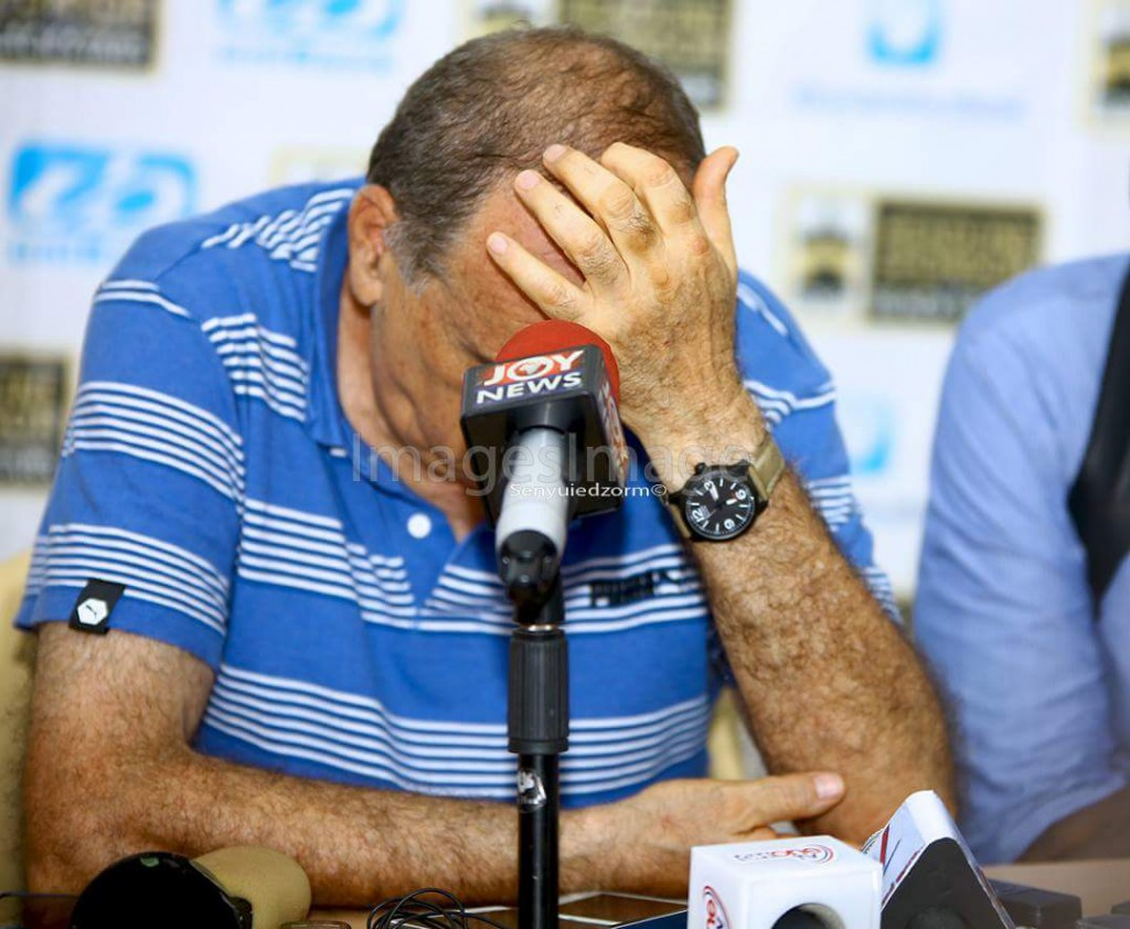 SHEIKH'S DRAWING BOARD: Grant's poor tactics caused Ghana's defeat to Egypt
