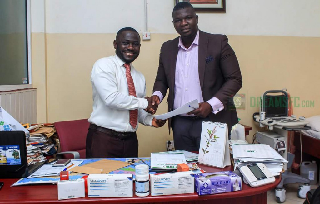 Dreams FC seal partnership agreement with Philteng Medical Centre