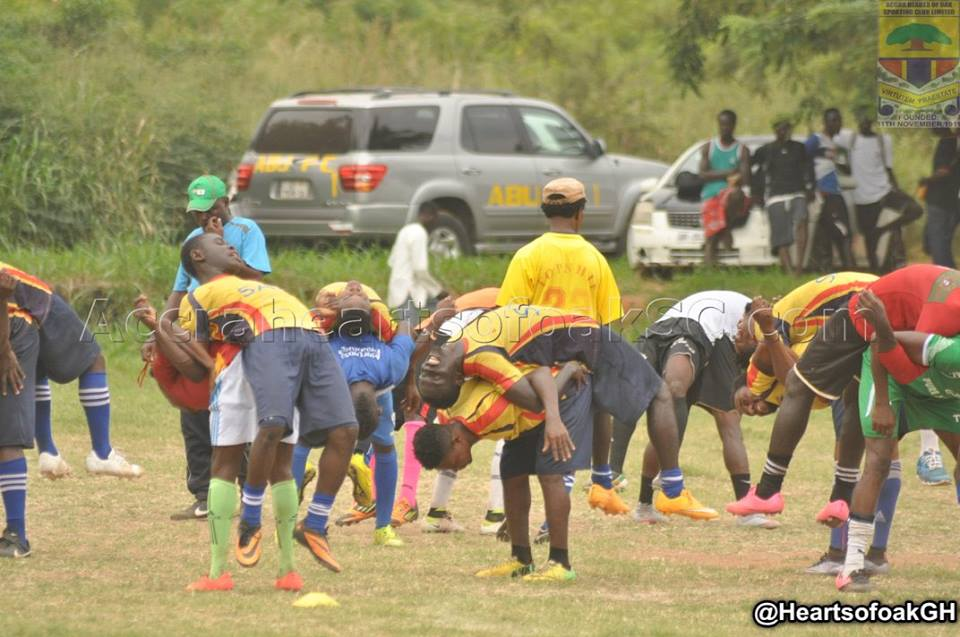 Hearts of Oak to train at Pobiman on Monday