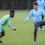 Youngsters Jeremie Frimpong and Yeboah Amankwah feature in Man City U18 defeat