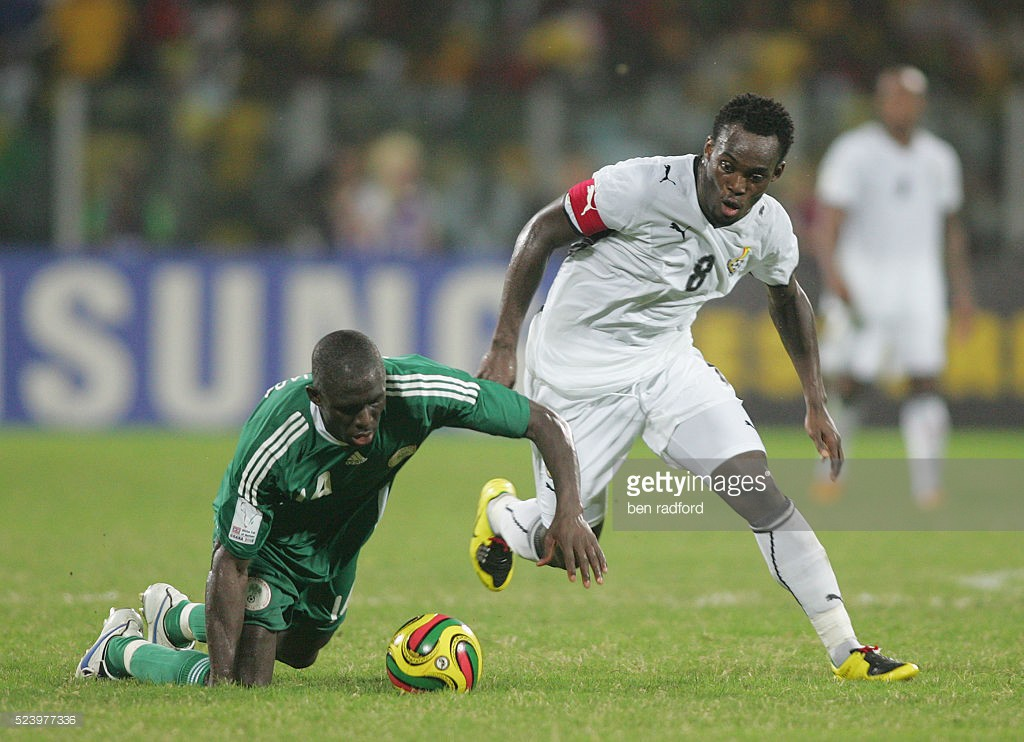 Astute Kenyan journalist Collins Okinyo names child after former Ghana star Michael Essien
