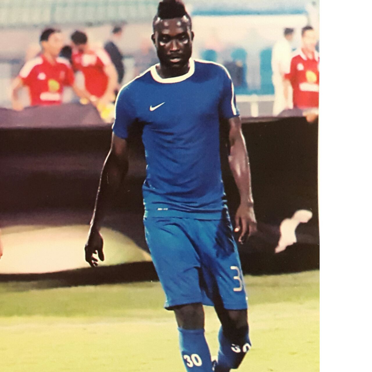 Nana Poku leads Egyptian Premier League scorers chart with 9 goals