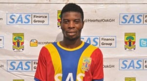 Hearts open contract extension talks with winger Ollenu Ashitey