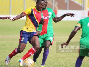 Aduana Stars and Wa All Stars in tug-of-war for Hearts midfielder Sabahn Laryea