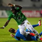 PICTURES: Ghanaian goal-machine Raphael Dwamena in action for Austria Lustenau on Friday night