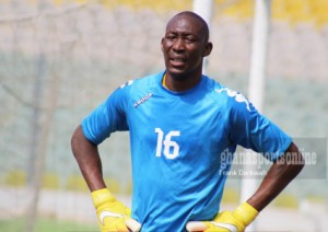 Ebusua Dwarfs closing in on x-Hearts goalkeeper Soulama Abdoulaye