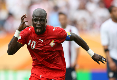Ex-Black Stars captain Stephen Appiah insists he is CONTENT with Ghana career