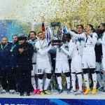 VIDEO: Watch Ghanaian Patrick Twumasi and his Astana team-mates in bizarre trophy celebration