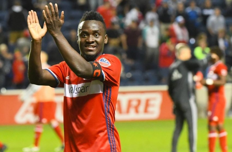 MLS side Chicago Fire want €3m for Ghana striker David Accam; Nantes interested in loan move