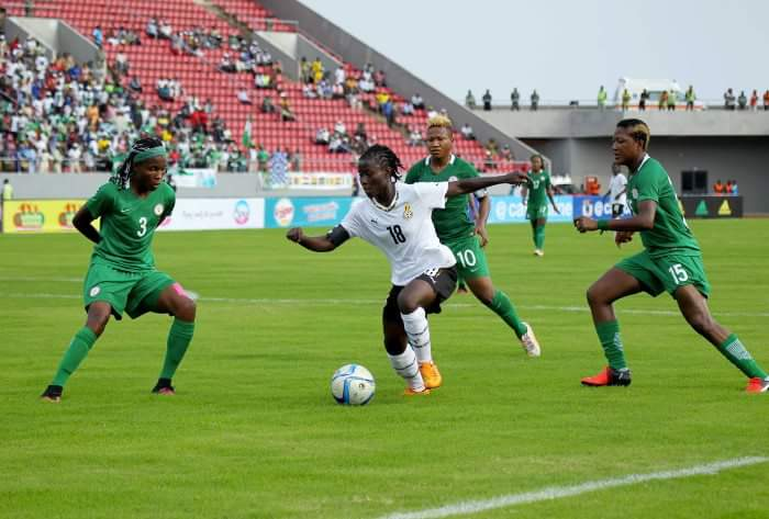 2016 WOMEN AFCON: Black Queens Hold Overrated Falcons