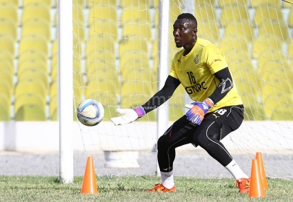 Video: Ghana goalkeeper Richard Ofori impressing in SA trial with Cape Town City
