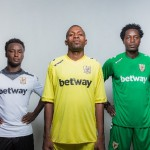 PHOTOS: Betway and Ashanti Gold unveils new kit for 2016/17 season