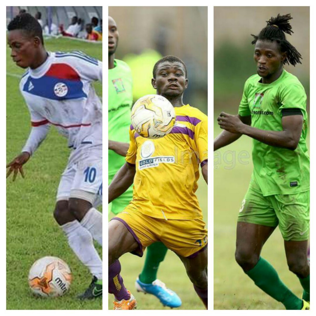 Latif Blessing, Kwesi Donau and Abdul Bashiru battle it out for 2015/16 GPL player of the season