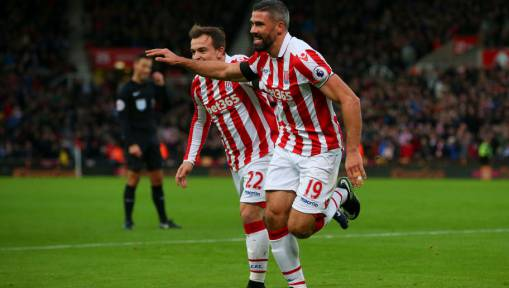 Stoke City 2-0 Burnley: Mark Hughes' Men Extend Burnley's Losing Streak With a Convincing 2-0 Win