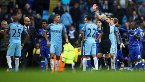 Gary Neville Believes City-Chelsea Brawl Is 'Exactly What The Premier League Needs'
