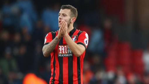 On Loan Bournemouth Midfielder Jack Wilshere Not Thinking About Arsenal Return