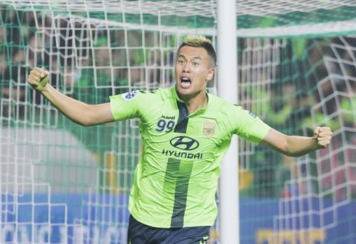 Kim Shin-wook bringing experience to bear with Jeonbuk