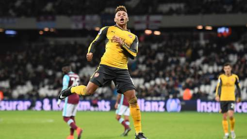 Arsenal Boss Arsene Wenger Says Winger Alex Oxlade-Chamberlain 'Has Made a Lot of Progress'