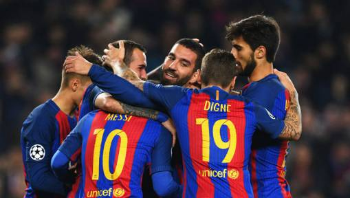Barcelona Break Champions League Passing Record in Gladbach Romp; Because Barcelona