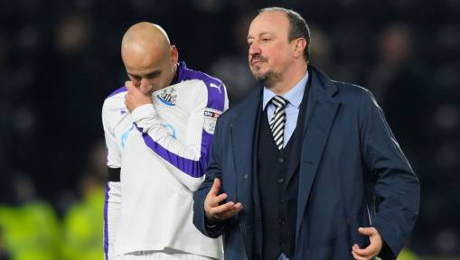 Newcastle Boss Rafa Benitez Reveals What Jonjo Shelvey Said to the Team After His Recent Red Card