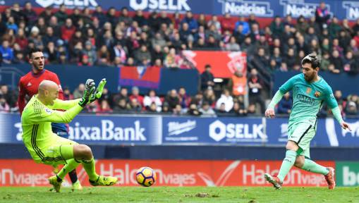 Osasuna 0-3 Barcelona: Lionel Messi on Form as Barca Demolish La Liga Whipping Boys