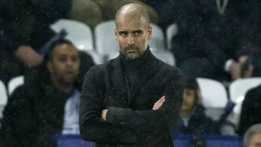 Manchester City Boss Pep Guardiola Defends Team's System Following Big Away Loss to Leicester City