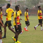 PHOTOS: 25 players train on day three as Black Stars step up AFCON preparations