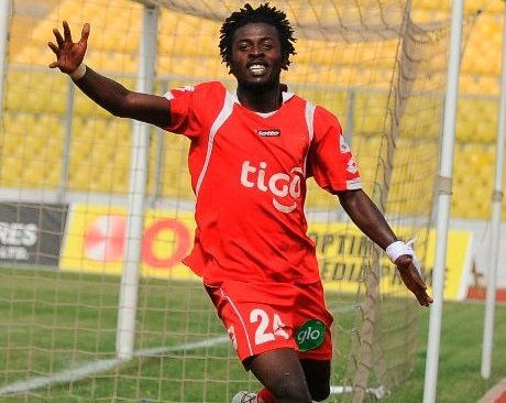 Striker Edward Afum shuts door on Ghana Premier League return