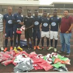 MLS star Dominic Oduro donates balls and jerseys to former side Inter Allies