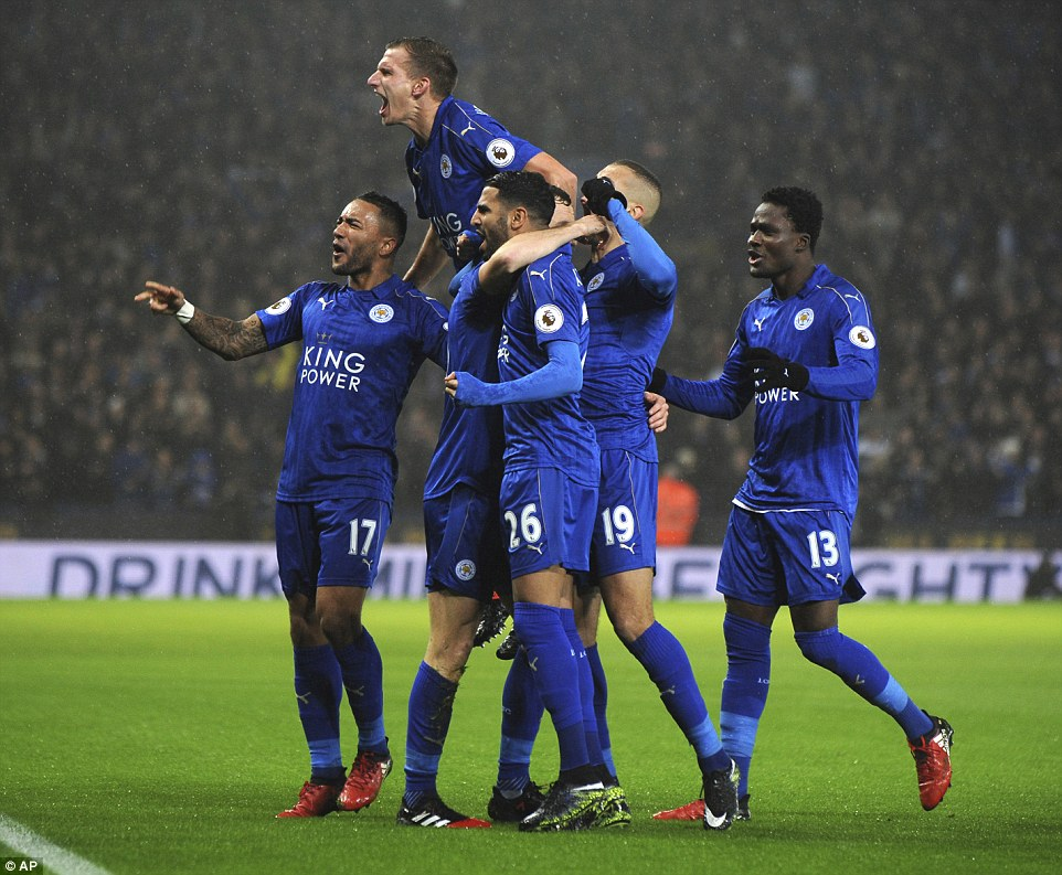 Ghana defender Daniel Amartey flourishes in midfield as furious Leicester tear Man City apart