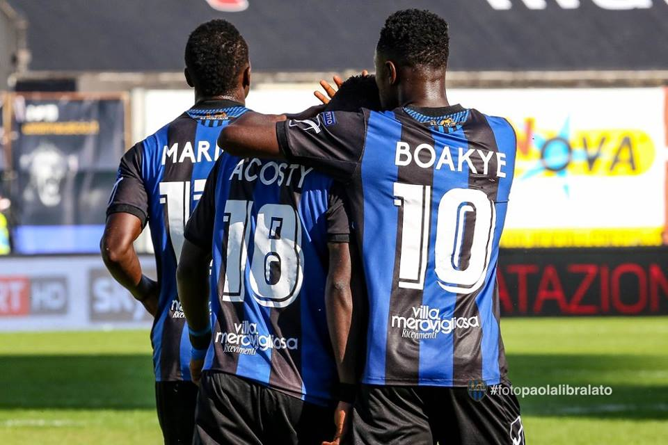 VIDEO: Richmond Boakye scores at the death as Latina beat Hellas Verona