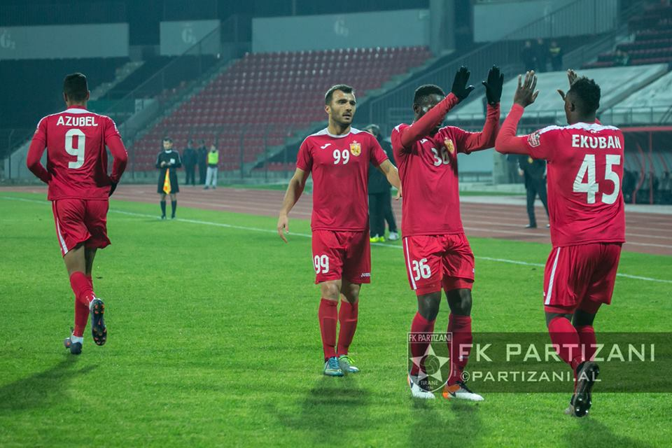 Ghanaian attacker Caleb Ekuban scores 8th goal of the season in Albania