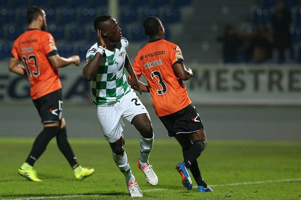 Ghana youth forward Emmanuel Boateng grabs consolation goal for Moreirense in Portugal