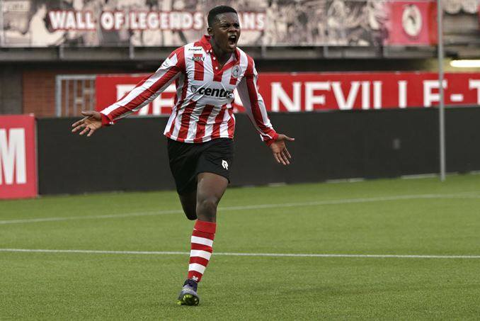 Promising Ghanaian youth forward Felicia Lovette scores classy finish for Sparta II in Dutch lower-tier league