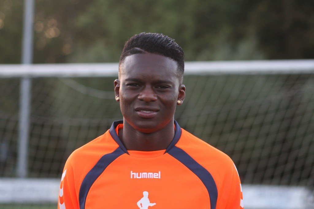 Dutch-born Ghanaian Felicia Ofori scores for Sparta Rotterdam B in Dutch lower-tier