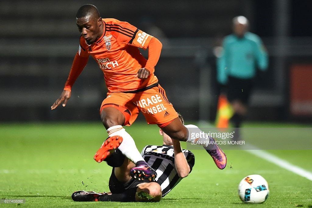 Ghana striker Majeed Waris scores in third straight game for Lorient