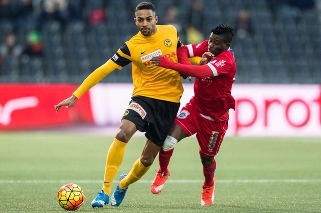 Swiss side Young Boys lose Ghanaian defender Gregory Wüthrich for remainder of the season