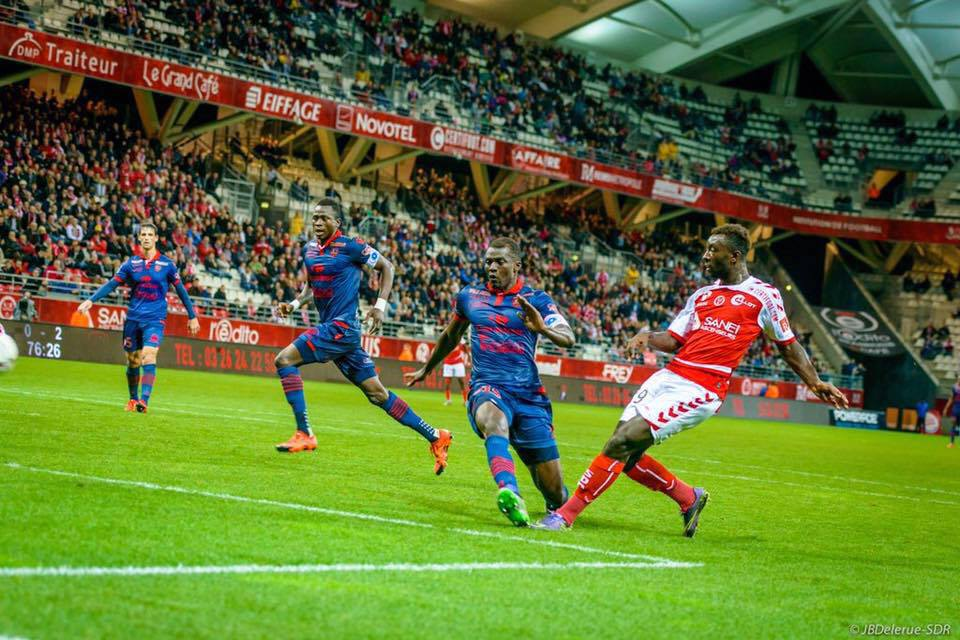 French-born Ghanaian forward Grejohn Kyei scores brace in Stade de Reims massive win in Coupe de France