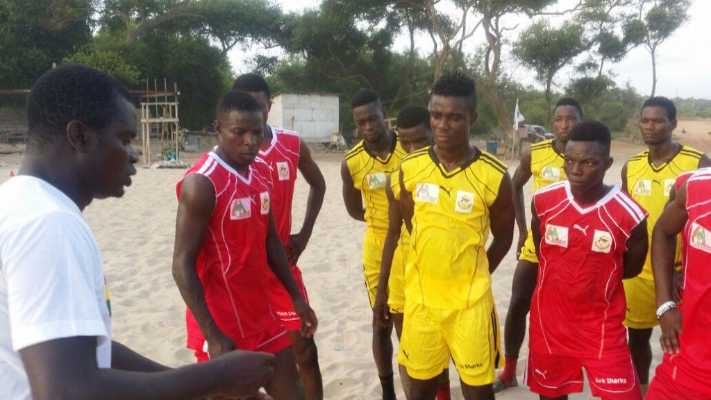 2016 BEACH SOCCER AFCON: Ghana names final squad for tournament