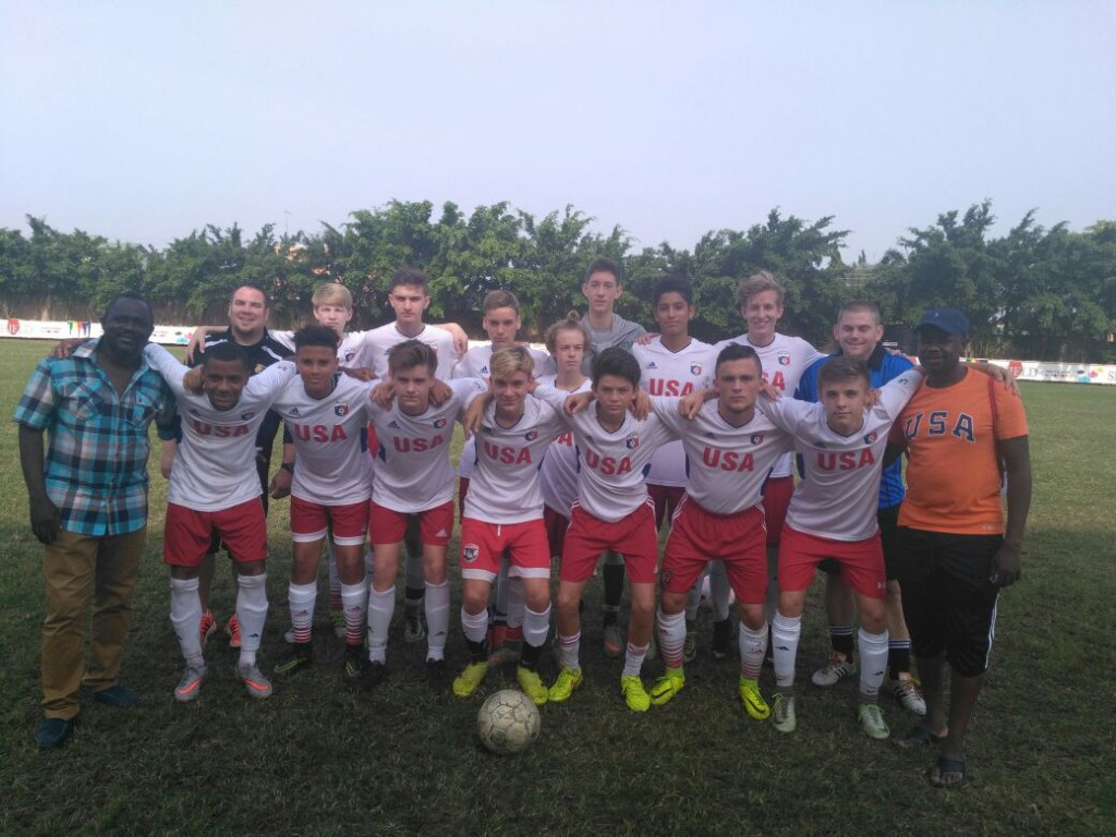 US-based Rush Soccer lose 2-1 to Liberty All Stars U15 in Special Rush Soccer tournament