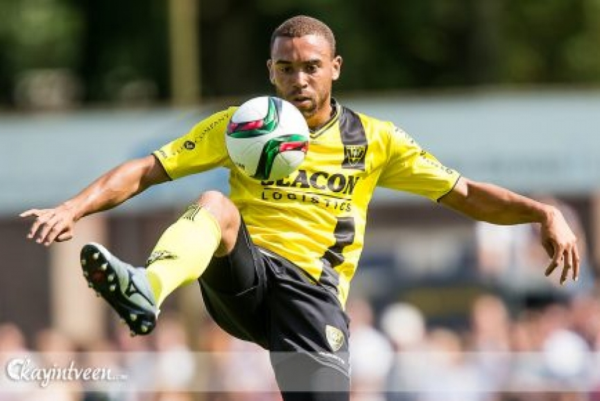 Jonathan Opoku scores for VVV Venlo in Holland