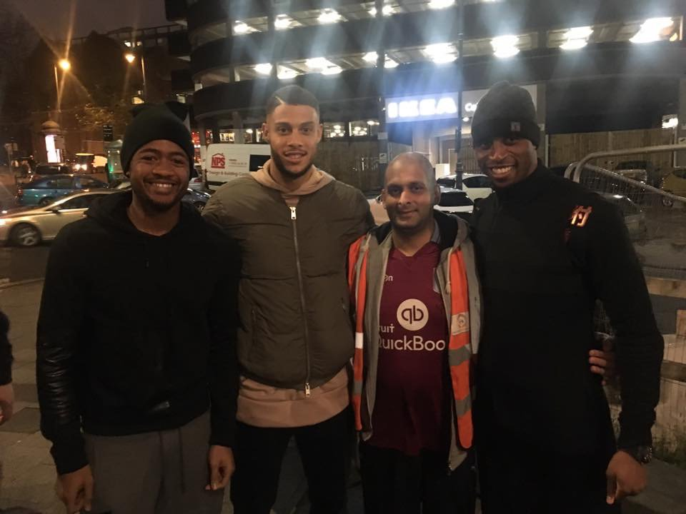 Jordan Ayew and Aston Villa mates help out with homeless charities in Birmingham
