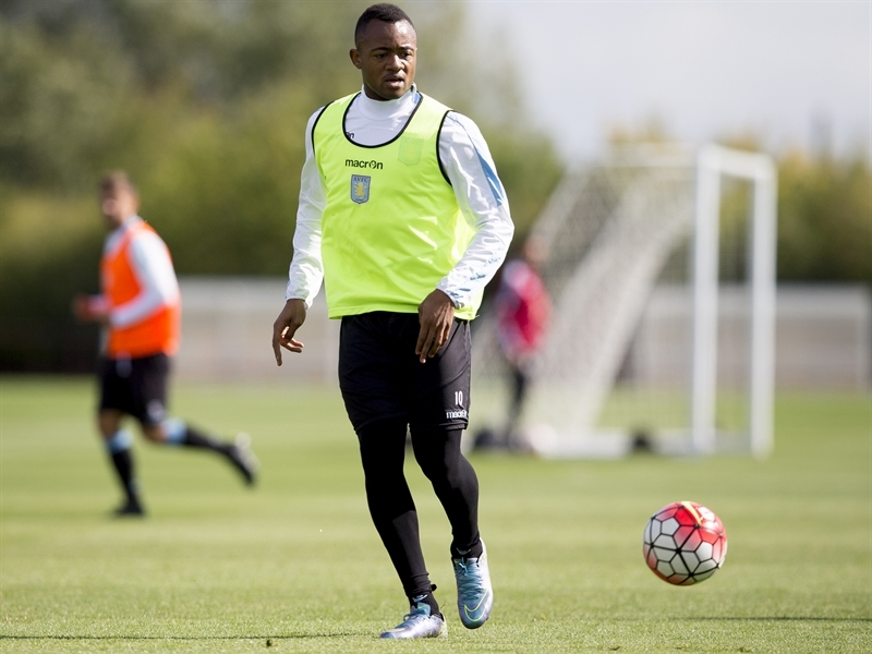VIDEO: Watch Jordan Ayew's class act in training for Aston Villa