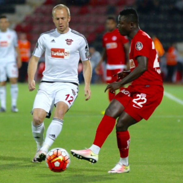 Defender Samuel Inkoom scores twice in Antalyaspor's training match