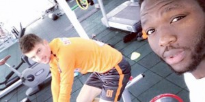 Injured Ghanaian midfielder Muniru Sulley intensify gym work as he continues recovery