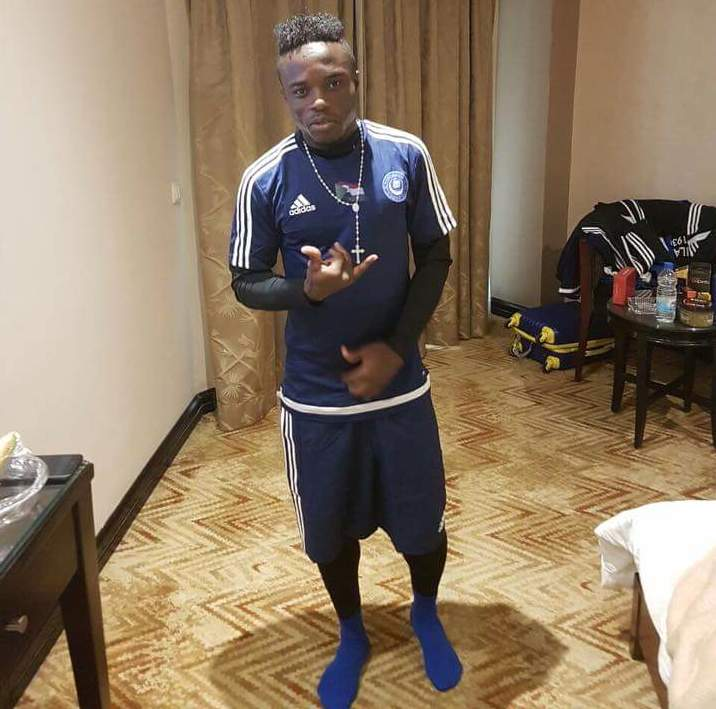 Augustine Okrah lands in Egypt with new club Al Hilal Omdurman for pre season