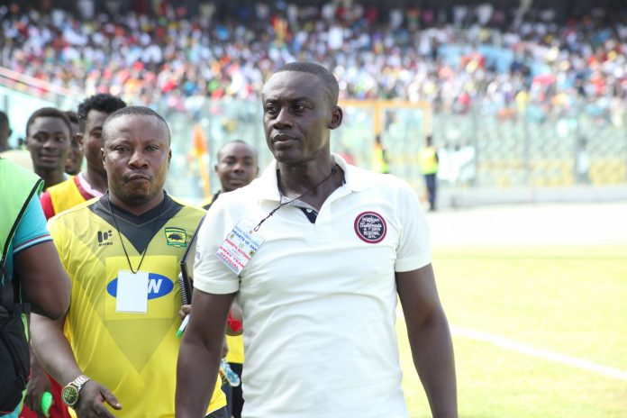 Michael Osei not bothered by Samuel Kyere's constant distraction